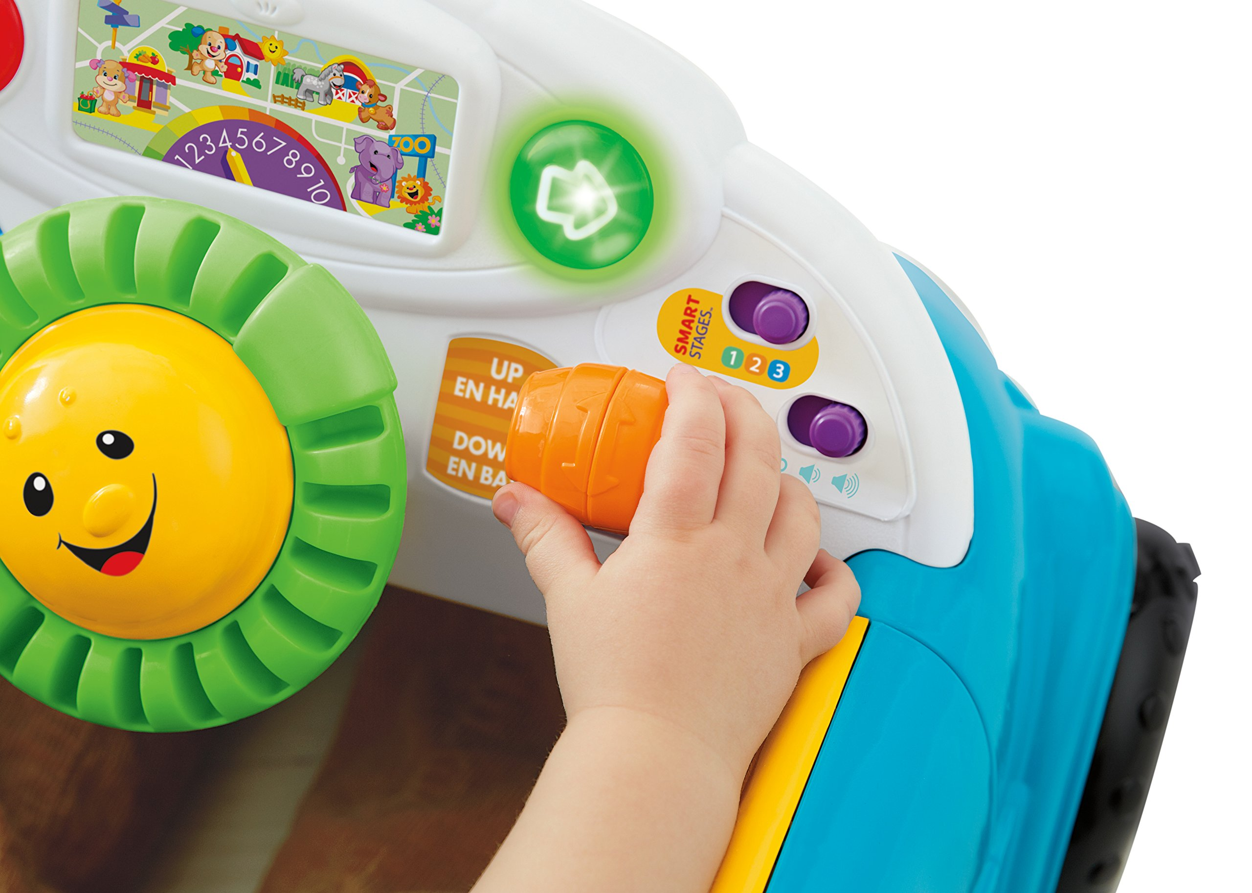 Fisher-Price Laugh & Learn Smart Stages Crawl Around Car, Blue by Fisher-Price (Image #10)