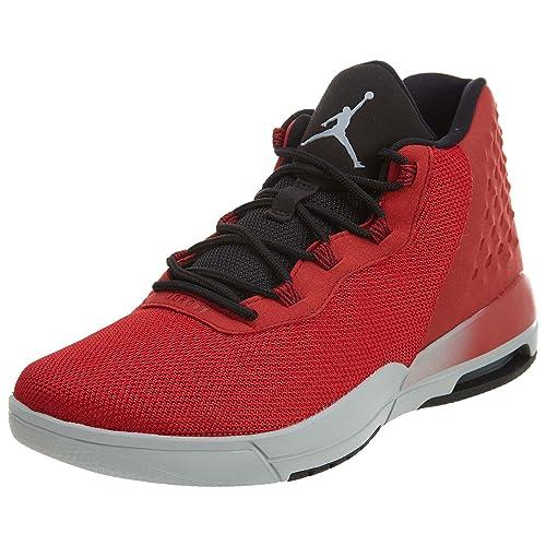 Nike 844520-600, Zapatillas de Baloncesto para Niños, Rojo (Gym Red/Wolf Grey Black), 38 EU: Amazon.es: Zapatos y complementos