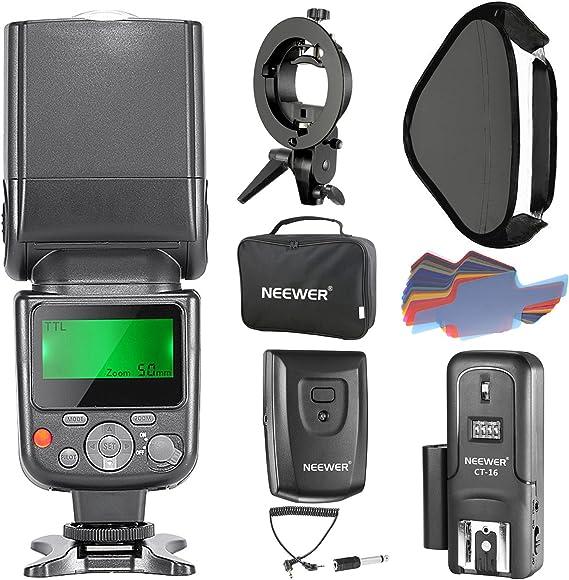 Neewer Nw 670 Ttl Flash Speedlite Blitzgeräte Kit Für Kamera