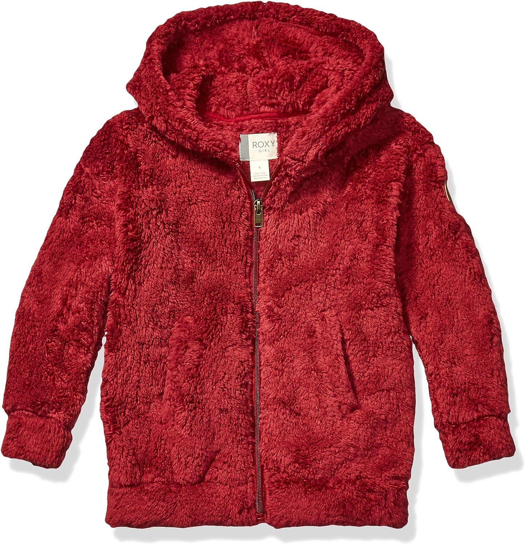 Roxy Girls Big Sunny Anyway Sherpa Jacket