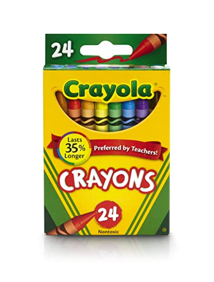 7f327ab60e8 Amazon.com  Crayola Crayons 24 Colors  Toys   Games