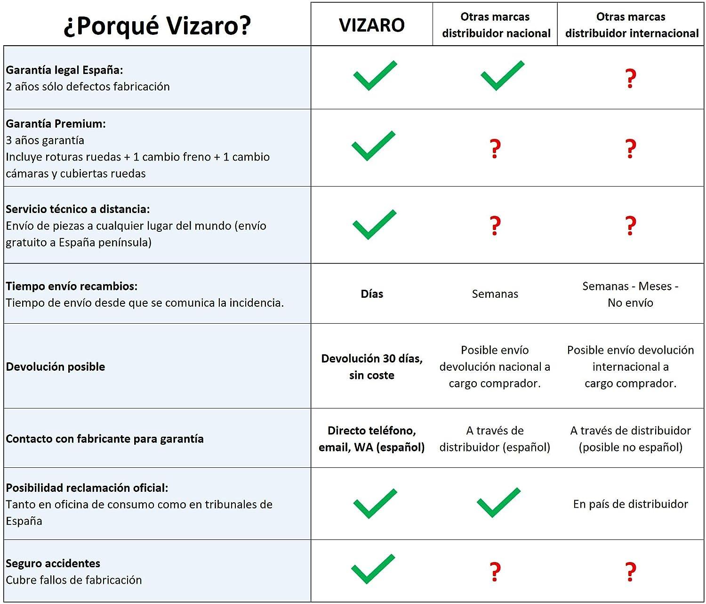 Vizaro PEARL 2020 DÚO 2 en 1 - Carro Bebé GAMA LUJO REAL - MARCA ESPAÑOLA - Muy Elegante - Hecho en UE - TEXTILES MUY ALTA CALIDAD - Garantía 3 Años - ...