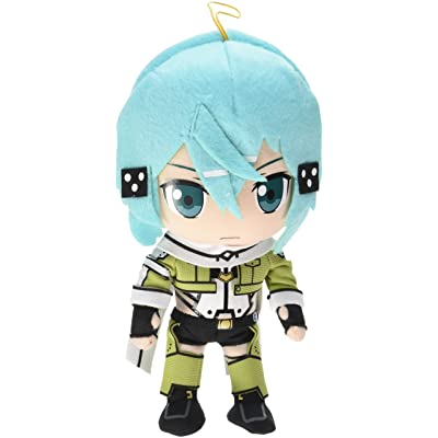 "GE Animation Ge-52135 Sword Art Online Ii - Sinon Stuffed Plush, 8"": Toys & Games"