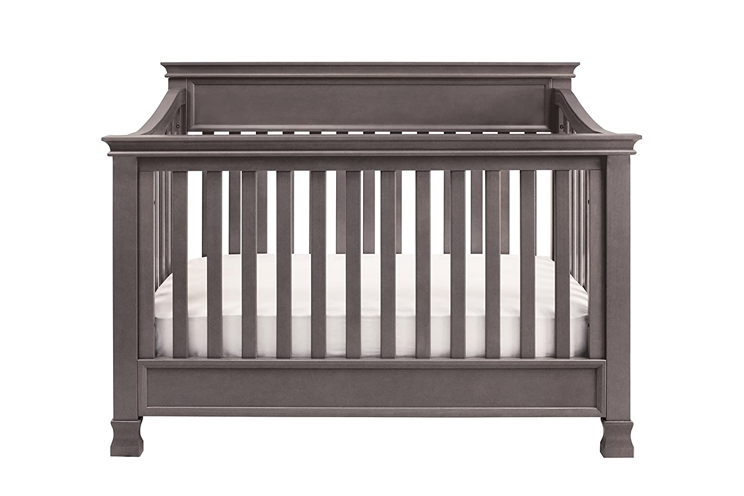 million dollar classic shipping in free convertible with rail toddler ashbury crib sleigh cribs baby espresso
