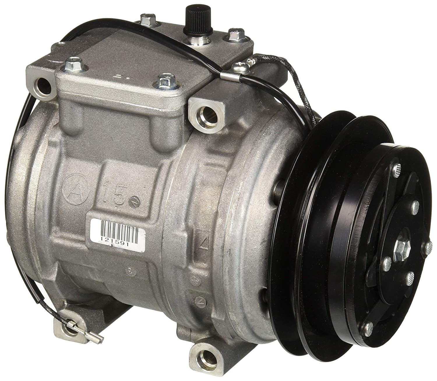 Denso 471-1129 New Compressor with Clutch