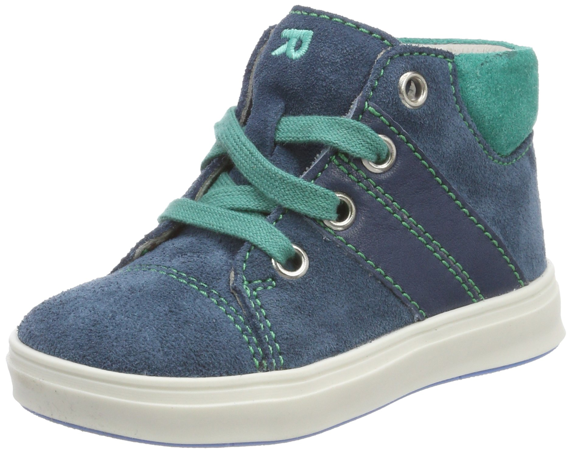 Richter Kinderschuhe Boys' Jimmy Derbys, Blue (Pacific/Menta 6701), 7.5 UK by Richter Kinderschuhe (Image #1)