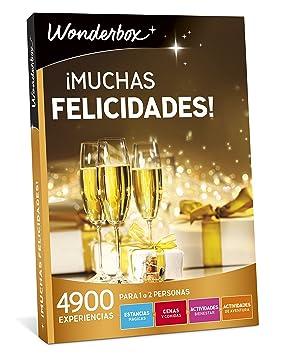 WONDERBOX Caja Regalo -¡Muchas FELICIDADES!- 4.900 Actividades para Dos Personas