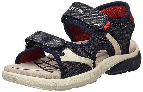 Geox Jungen J Flexyper Boy A Peeptoe Sandalen