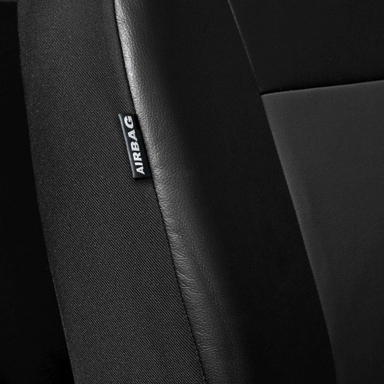 Saferide Universal Kunstleder Grau Front BUS 1+2 Sitzbez/üge Wohnmobil Sitzbezug Schonbezug Schonbez/üge Autoschonbezug Autositzbezug Sitzauflagen Sitzschutz Comfort