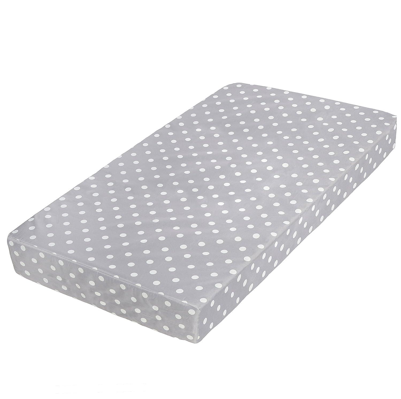 Milliard Memory Foam Crib Mattress + Waterproof Cover | Premium Hypoallergenic Toddler Bed and Next Stage Baby Mattress | 27.5x52x5.5