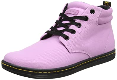 8649365f83de8 Dr. Martens Women's Belmont Hi-Top Trainers, (Mallow Pink 690), 7 UK ...