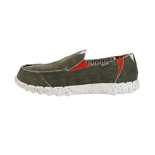 Dude Shoes Men's Kola Oceano Canvas Deck Shoe UK6 / EU40 GhmhBB