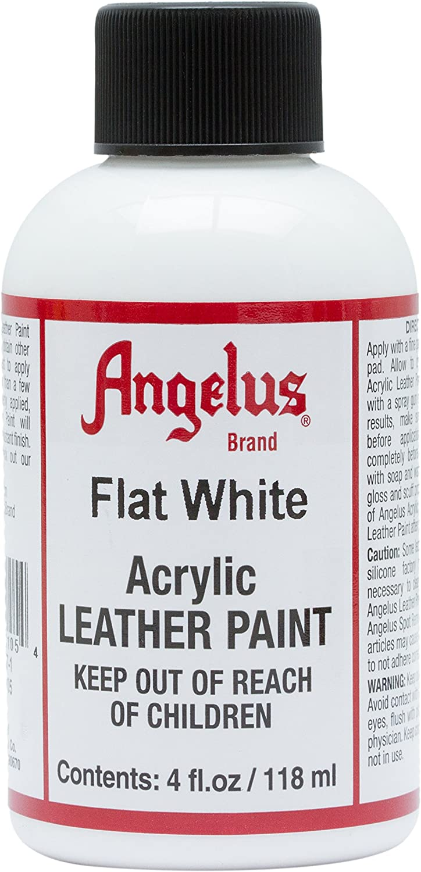 Angelus Brand - Pintura De Cuero Acrilico - Blanco 113g