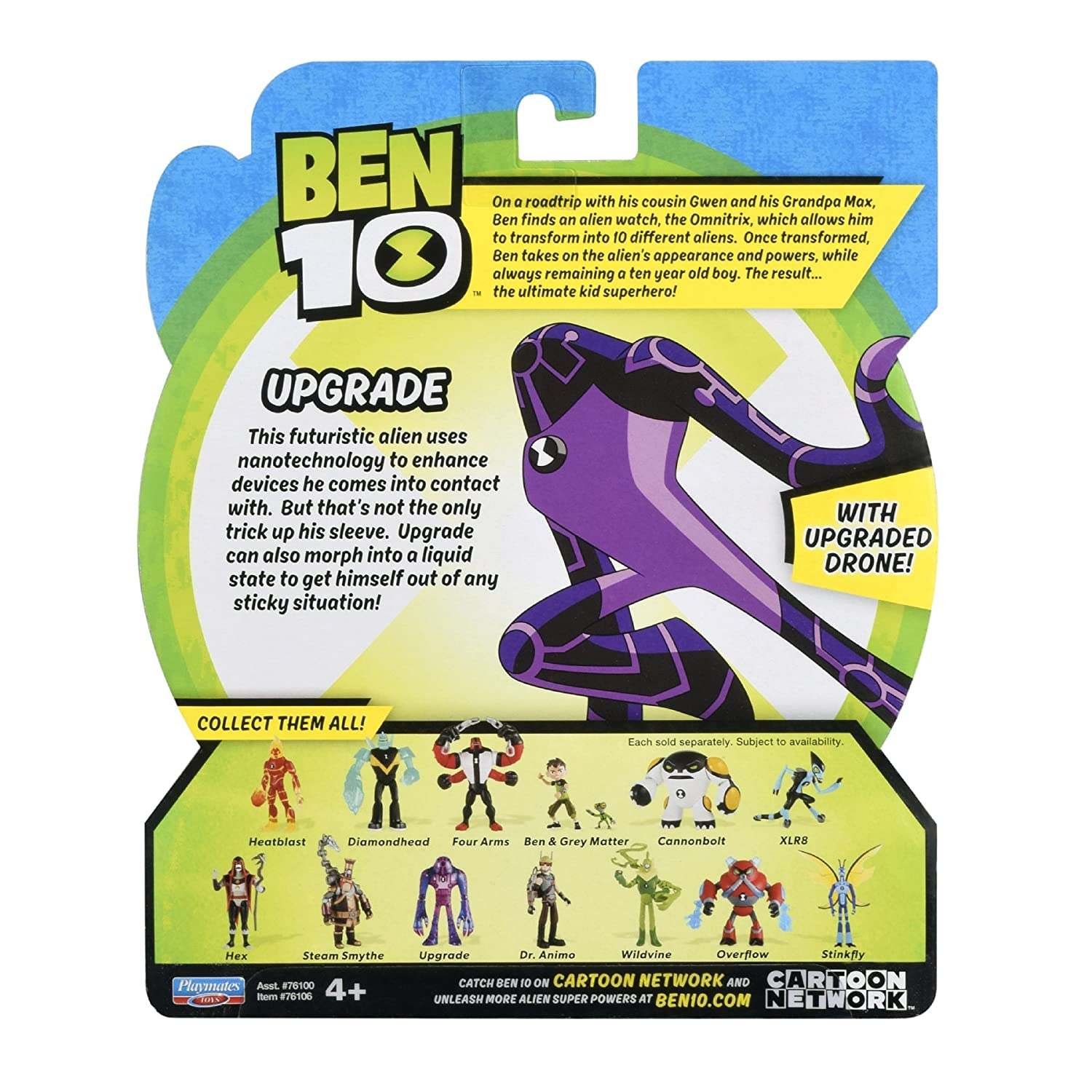 Toys 76106 Ben 10 Upgrade Action Figure Playmates