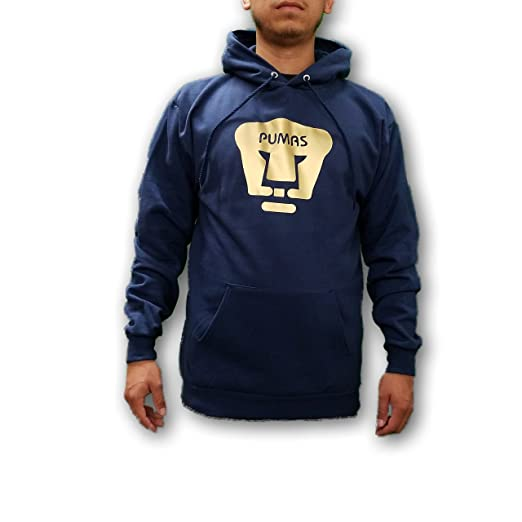 Pumas de la UNAM Mens Pullover Hoodie Sweatshirt at Amazon Mens Clothing store: