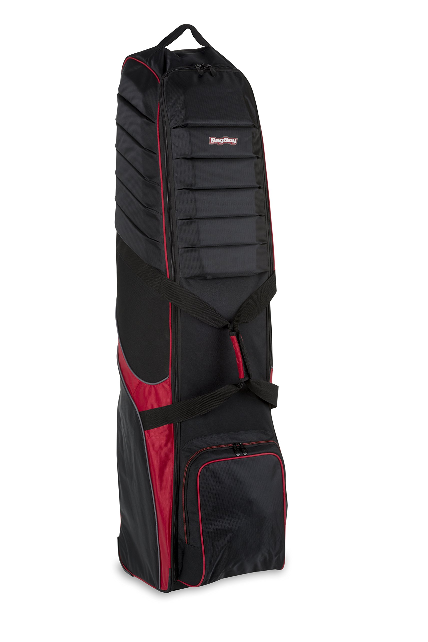 Bag Boy T-750 Wheeled Travel Cover Black/Red by Bag Boy