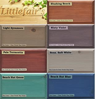 Littlefairu0027s Water Based Wood Dye   Pastel Range (Tester Kit, Pastel Range)