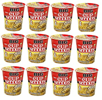 Best Amazon.com : Nissin BIG CUP Noodle Microwavable and Spoonable  RX66