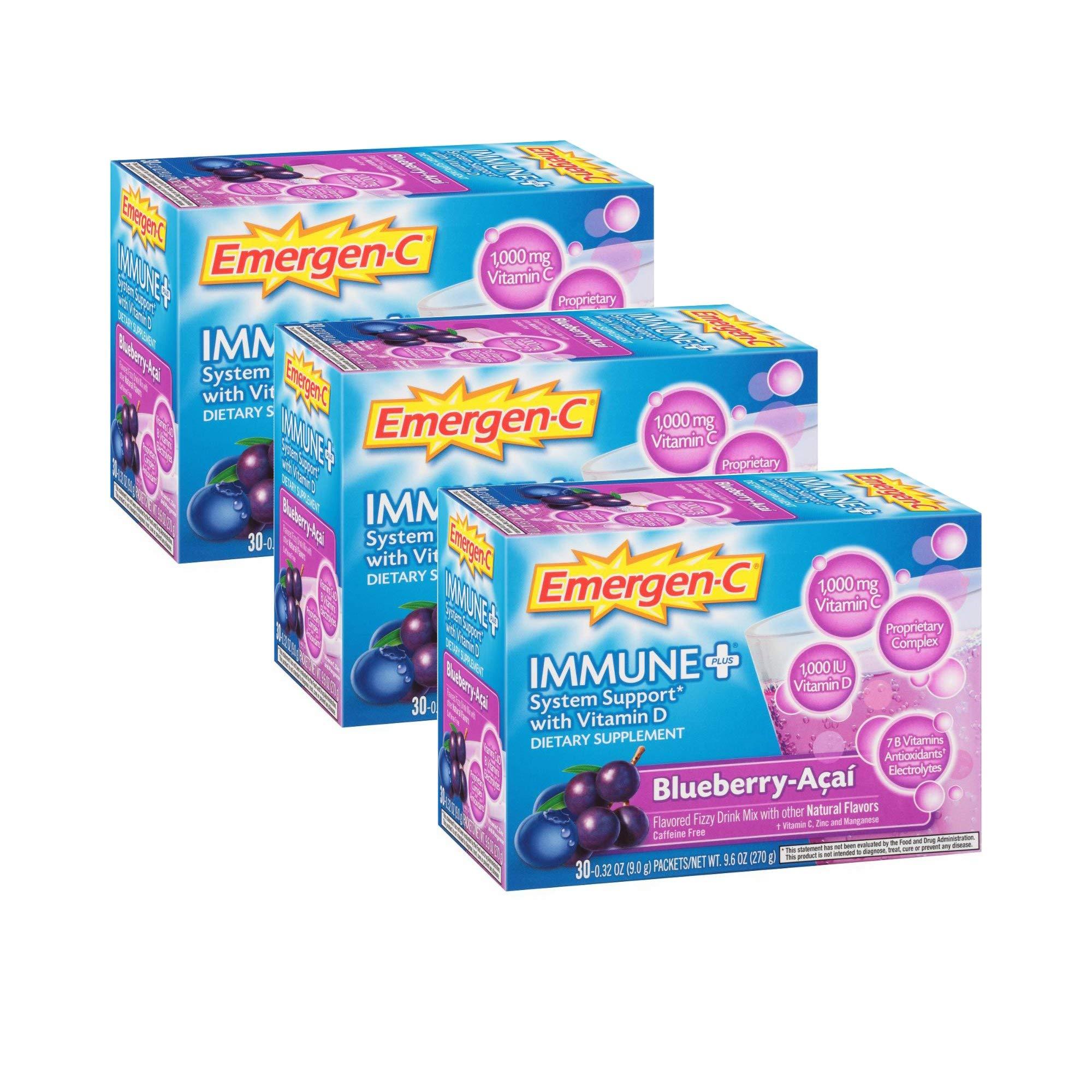 c5355bfa216 Emergen-C Immune System Support Dietary Supplement Fizzy Drink Mix With Vitamin  D