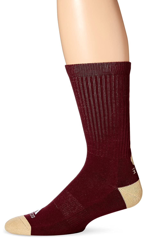 Adidas Crew - Calcetines para Hombre, Hombre, C330Z-018, Granate, Size 12-15: Amazon.es: Deportes y aire libre