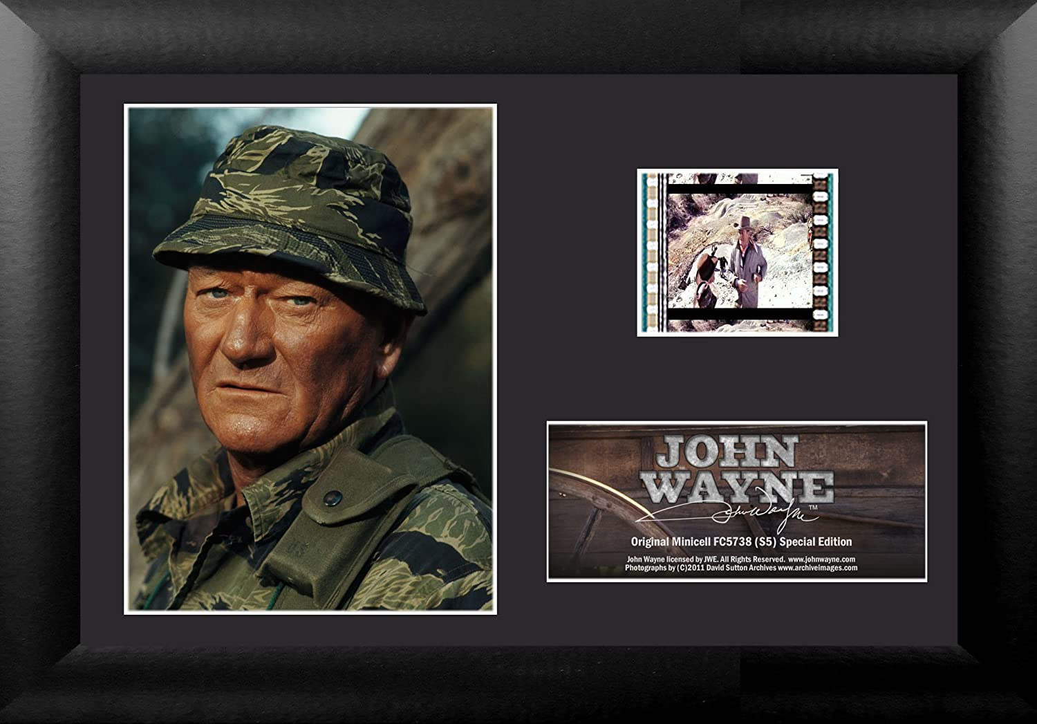 Trend Setters John Wayne JWE-S5 Minicell Film Cell Frame Yes USFC5738