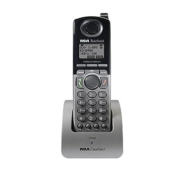 RCA Unison U1200 _ DECT 6.0 1-handset teléfono fijo de 4 líneas: Amazon.es: Electrónica