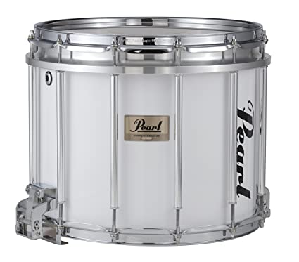 Pearl Competitor High Tension Marching Snare Drum White 14 X 12 In