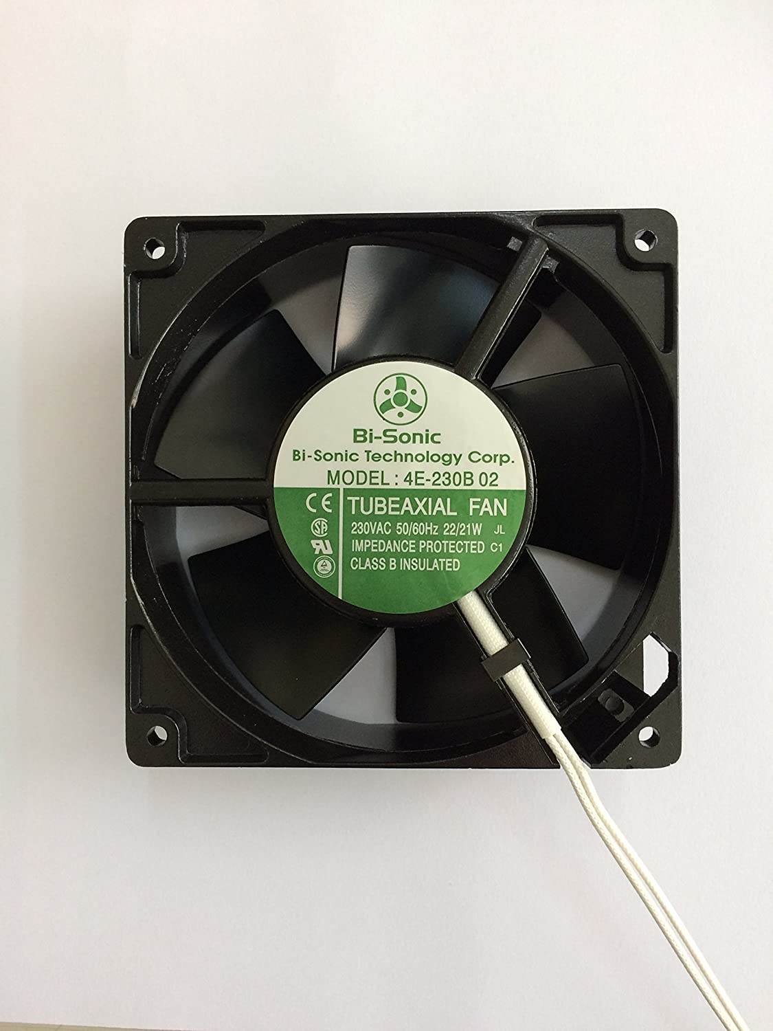 Uebest Ac Axial Fan 12038 All Metal High Wind 230vac Temperature Control Air Pressure Cooling Fan110v 120mm By 38mm Speed Electronics