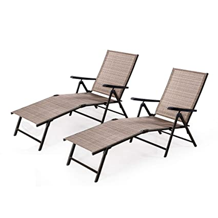 Outstanding Amazon Com Furniture Chaise Lounge Chair Outdoor Patio Ibusinesslaw Wood Chair Design Ideas Ibusinesslaworg