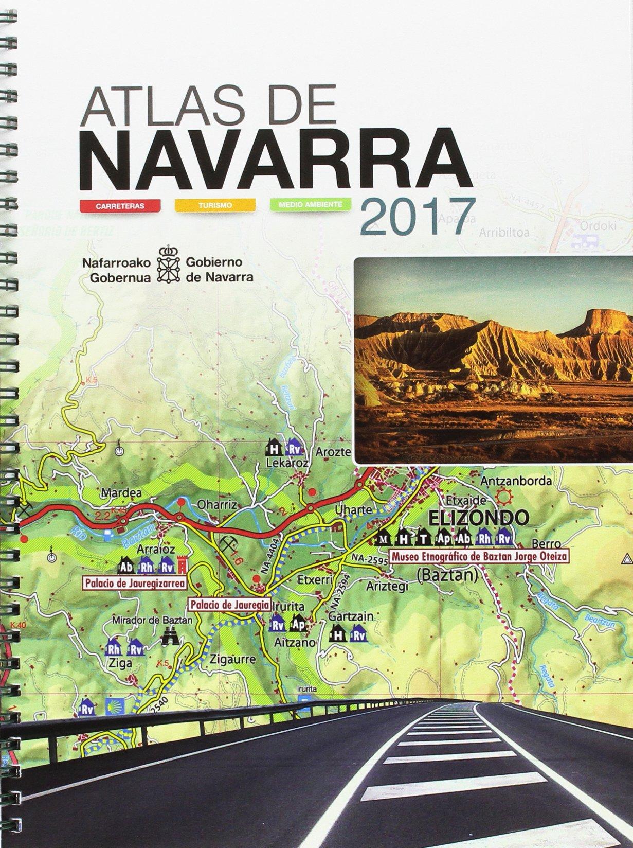 Atlas de Navarra 2017: Carreteras, turismo y medio ambiente Tapa blanda – 6 jul 2017 8423534472 Road atlases & maps Reiseführer: Abenteuerurlaub