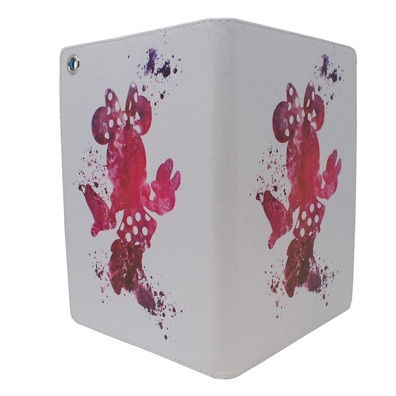 Apple iPad Air Folio Fan Art Case//Protective PU Leather Smart Flip Cover//iCHOOSE//Mickey Heart Minnie iPad 5