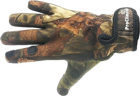 Fishing Black Neoprene Gloves Shooting Pro Climate