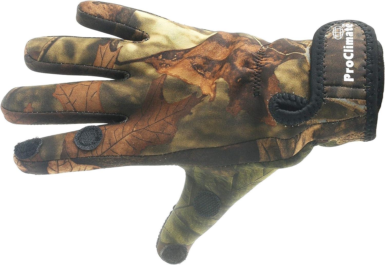 ProClimate Neoprene Gants de Tir Camouflage