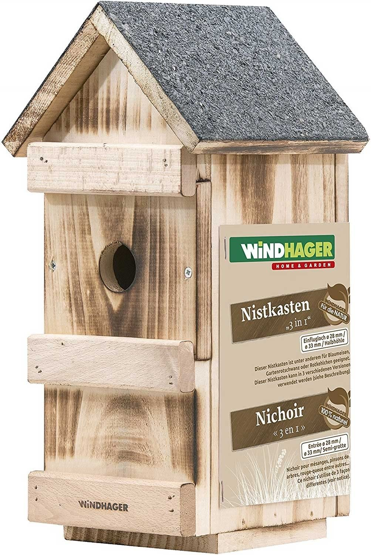 Caja nido con WiFi Cámara – HD, IR de visión nocturna, micrófono, Amplio – Pajarera: Amazon.es: Productos para mascotas