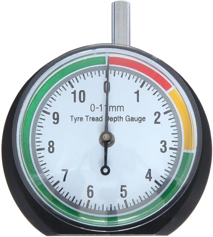 Nicedier-Tech Tyre Tread Depth Gauge Tool Wheel Tyre Measurement for Car Truck Bike Motorcycle