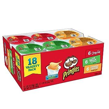 Pringles Snack Stacks Potato Crisps Chips – 18 Count