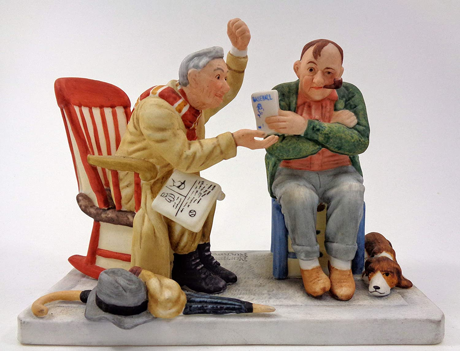 Amazon.com: Norman Rockwell Limited Edition Figiruine - ''Old ...