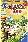 Ravensburger Kinderspiele 24945 der Verdrehte Sprach-Zoo Lernspiel