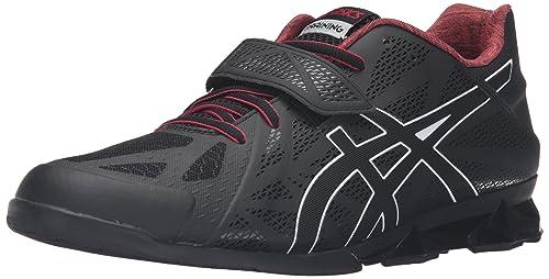 ASICS Men's Lift Master Lite Cross-Trainer Shoe, Black/Onyx/True Red