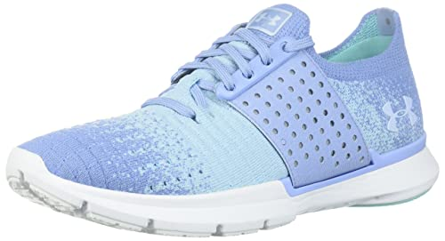 Under Armour Threadborne Slingwrap, Zapatillas de Running para Mujer, Azul Hellblau/Mint, 39 EU: Amazon.es: Zapatos y complementos