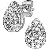 Naava Diamond Pear 9ct Gold Earrings
