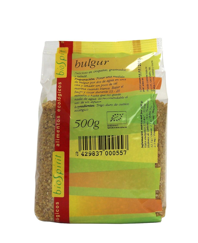 Biospirit Bulgur de Cultivo Ecológico - 500 gr: Amazon.es: Alimentación y bebidas