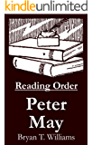 Peter May - Reading Order Book - Complete Series Companion Checklist (English Edition)