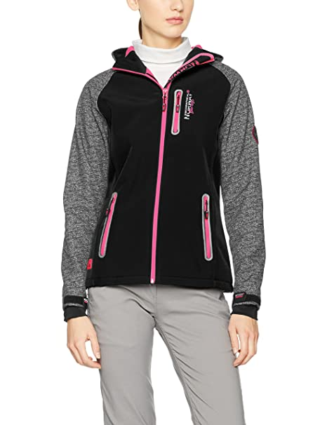 Geographical Norway Tamilia Lady, Chaqueta Deportiva para Mujer, Rosa (Flashy Pink Flashy Pink), Large