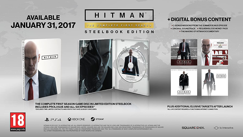 Hitman: The Complete First Season Steelbook Edition [Importación ...