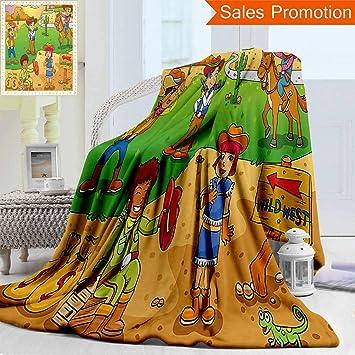 Amazon.com: Manta de franela con impresión 3D de doble cara ...