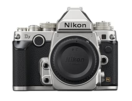 Nikon Df 16 2 MP CMOS FX-Format Digital SLR Camera Body (Silver)
