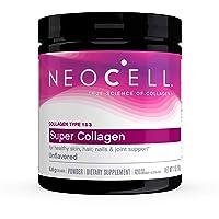 NeoCell Super Collagen Powder, 7 Ounces, Non-GMO, Grass Fed, Paleo Friendly, Gluten...