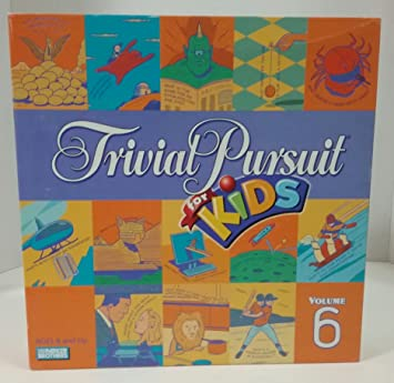 Trivial Pursuit for Kids - Volume 6 Board Game by Parker Brothers ...