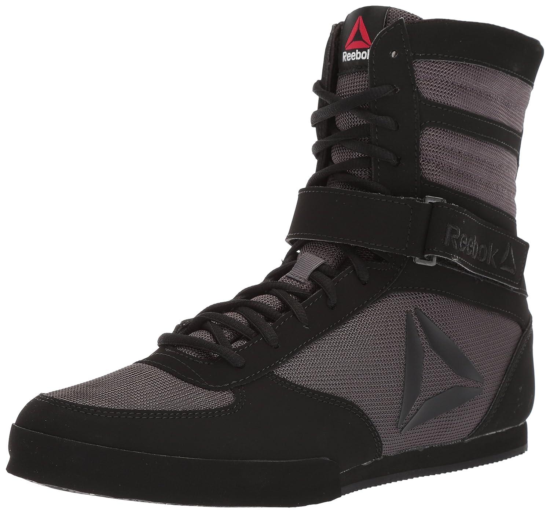 リーボックBoxing Boot – Buck靴 – メンズ B077Y5W6G4 9 Black/Ash Grey